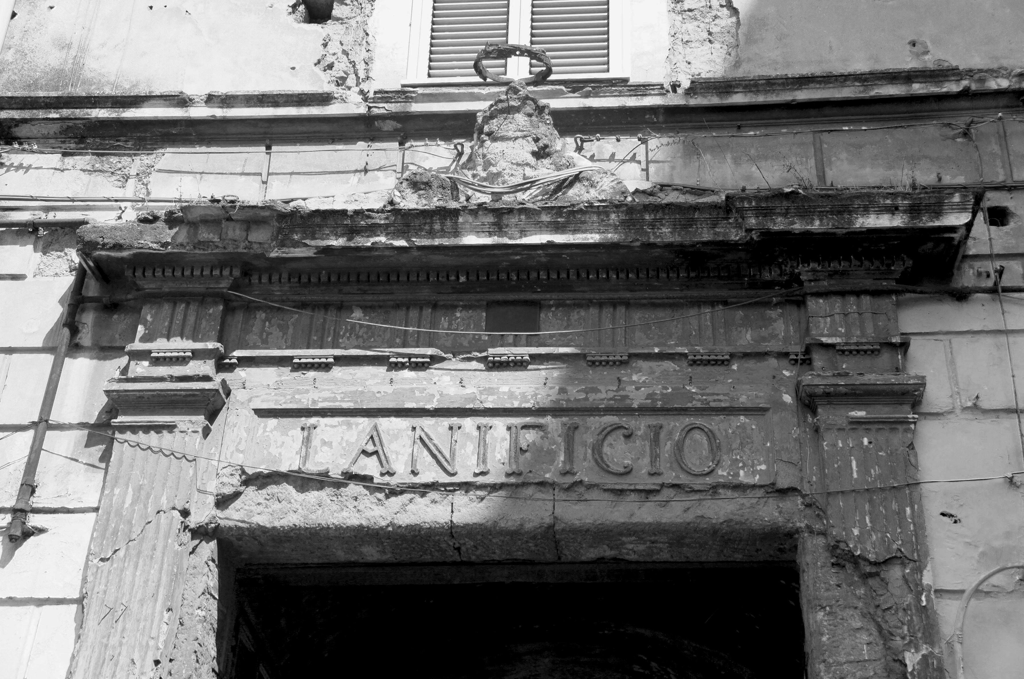 ingresso lanificio