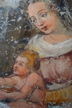 dettaglio affresco made in cloister