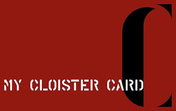 My Cloister Card