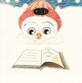 Snowboy Reading a Book 2004
