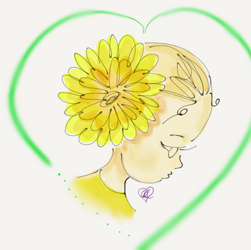 Dandelion & Butterflies - Portrait 2017