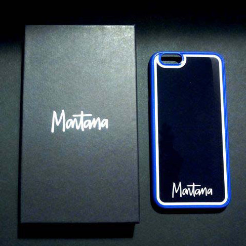 Coque Protection iPhone 6/6S - Montana Blu