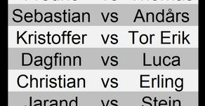 Pairings og oppdrag for runde 1 av Masters 2019