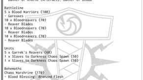 Listene til Fjordhammer GT