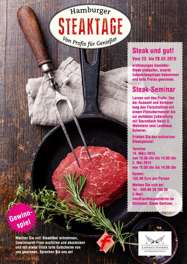 Steaktage Plakat