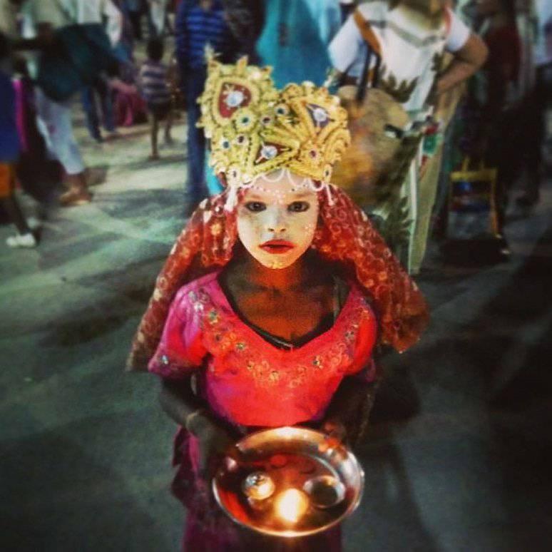 God Child @ Maha Kumbh Mela