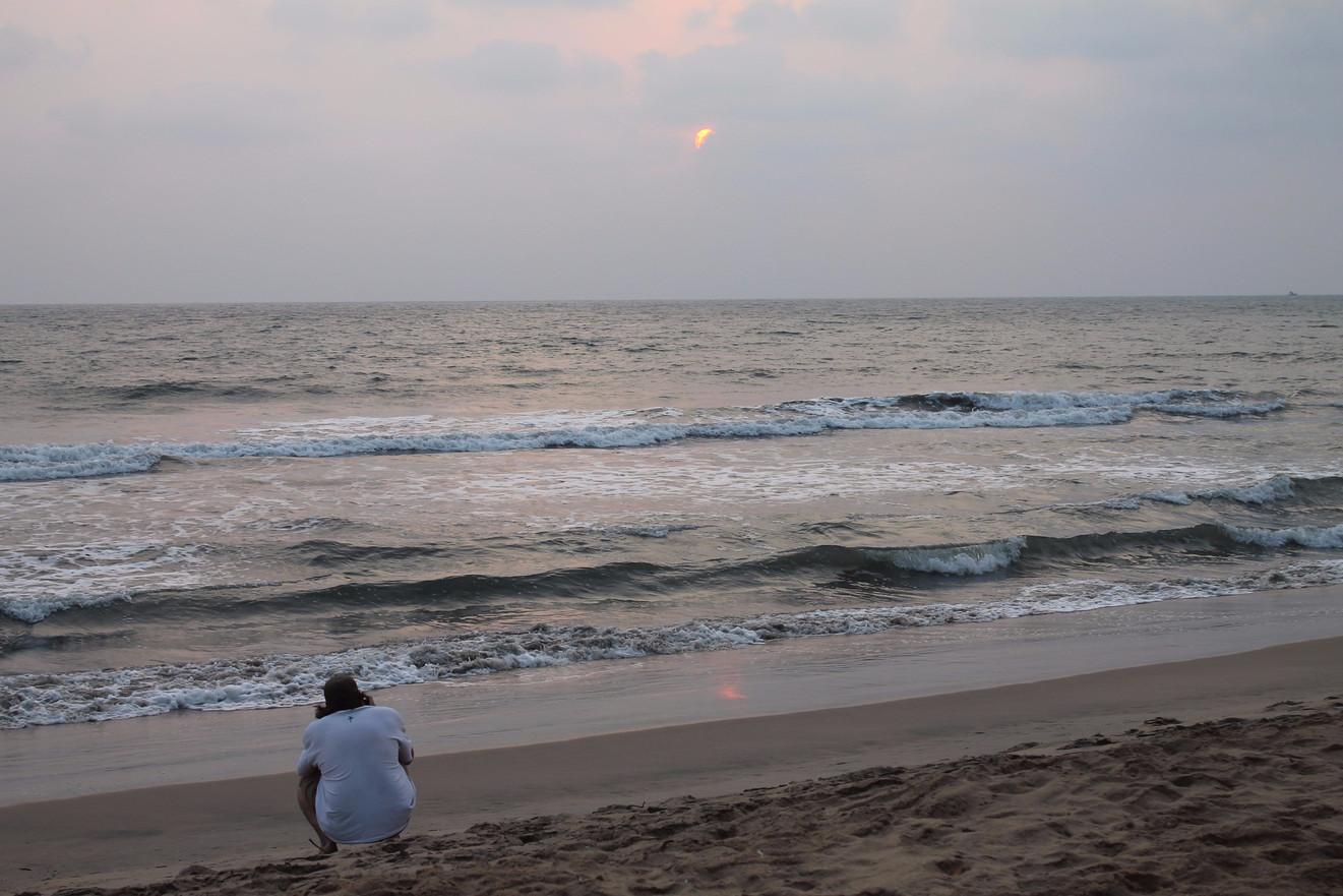 Sunset at Kannur