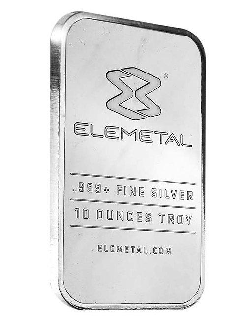 Elemetal Mint 10 oz. Silver Bar