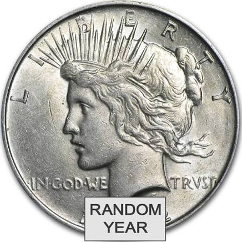 1922 - 1935 Peace Dollars