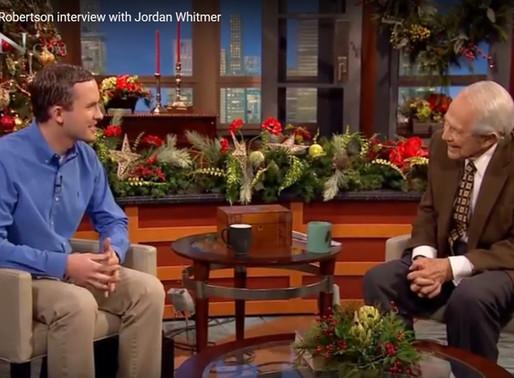 CBN 700 Club--Jordan Whitmer Interview with Pat Robertson
