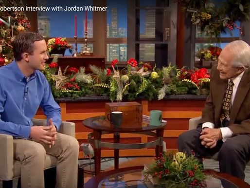 CBN 700 Club--Jordan Whitmer Interview with Pat Robertson