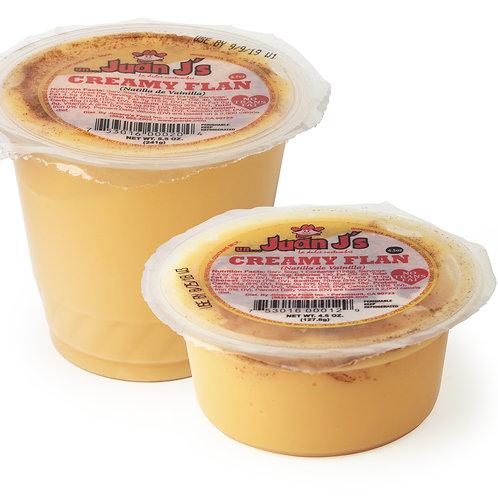 Creamy Flan (4.5 oz. and 8.5 oz.)