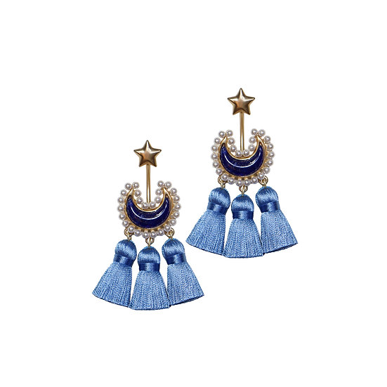 ANAHID Vintage Tassel Earrings