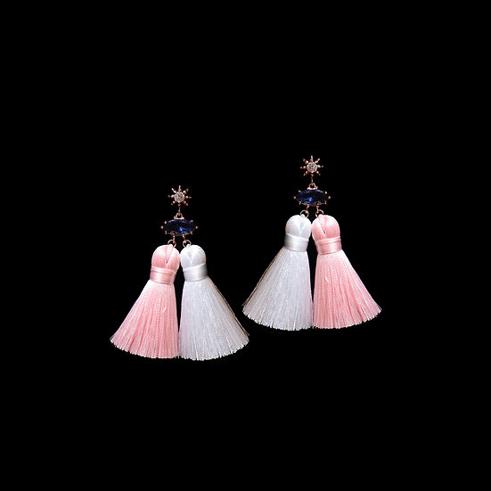 LEVANA Vintage Tassel Earrings
