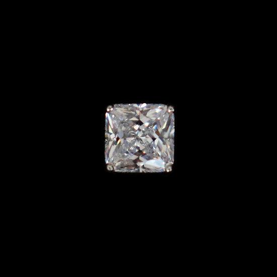 SILVERDEW Sterling Silver Zircon Stub Earring