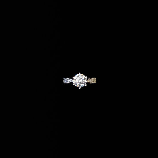 ( PRE-ORDER ) HOPE Sterling Silver Zircon Ring