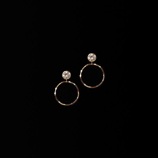 CANDICE Zircon Clip-On Earrings