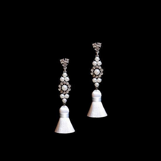 HELENA Vintage Tassel Earrings
