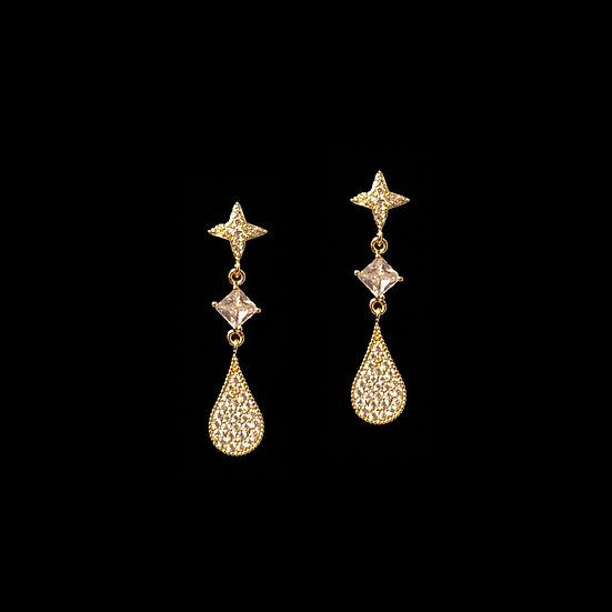 CHERISH Zircon Drop Earrings