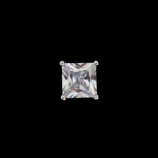 SILVERDEW KYA Sterling Silver Zircon Stub Earring