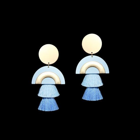AMELIA Vintage Tassel Earrings