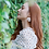 Thumbnail: KATELYN Flower Hoop Earrings