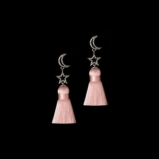 SEMINE KYA Vintage Tassel Earrings