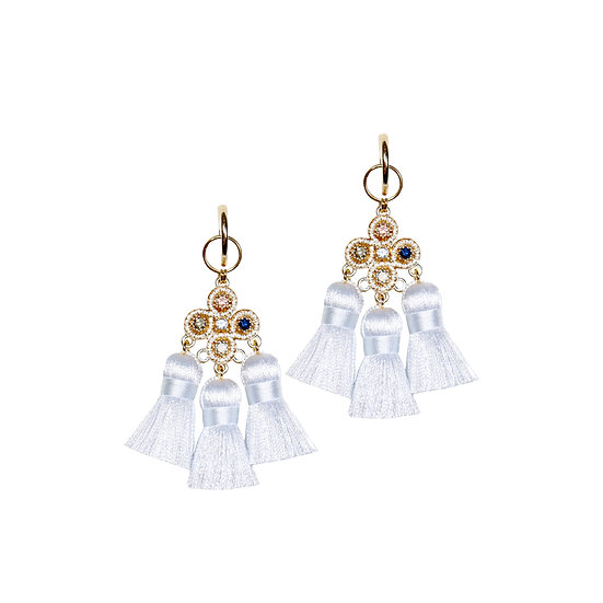 STEFANI Vintage Tassel Earrings