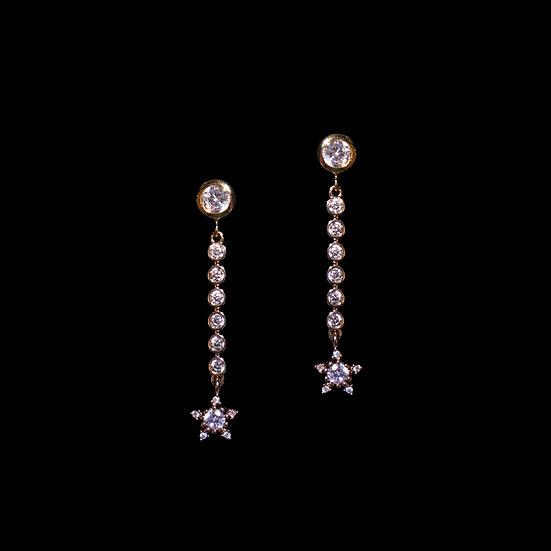 ATTA Zircon Drop Earrings