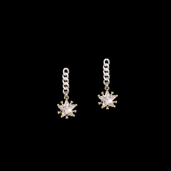 MARISTELA Zircon Drop Earrings