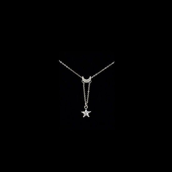 ( PRE-ORDER ) LETICIA Sterling Silver Zircon Necklace