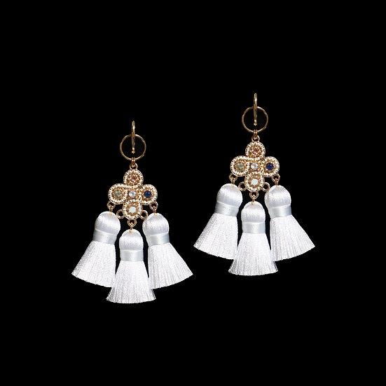 STEFANI Vintage Tassel Earrings