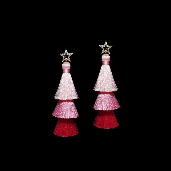 ESTHER Zircon Tassel Earrings