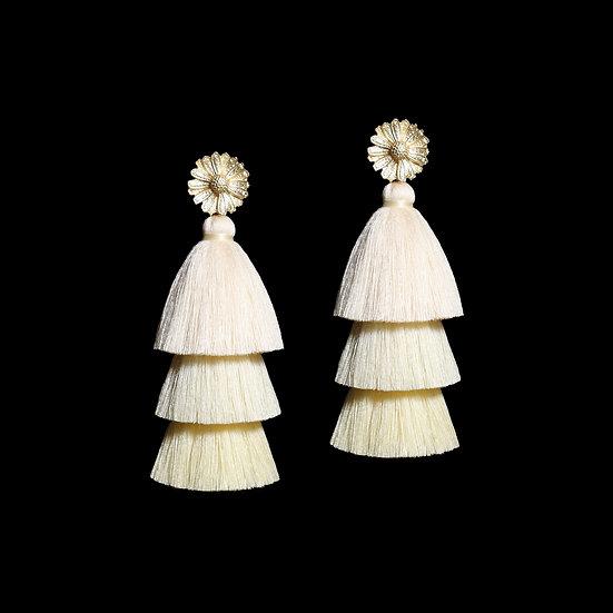 GENEVIEVE Vintage Tassel Earrings