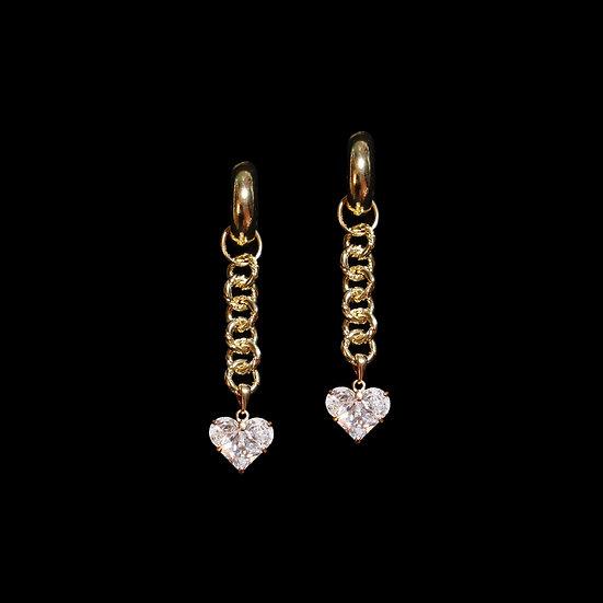 HERMOSA Zircon Drop Earrings