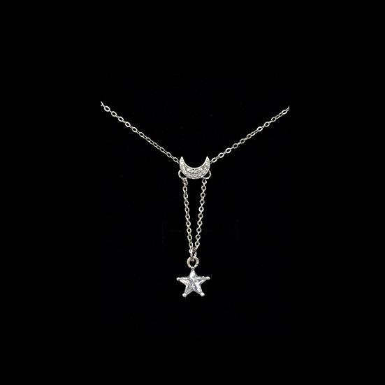 ( PRE-ORDER ) LETICIA Sterling Silver Zircon Necklace