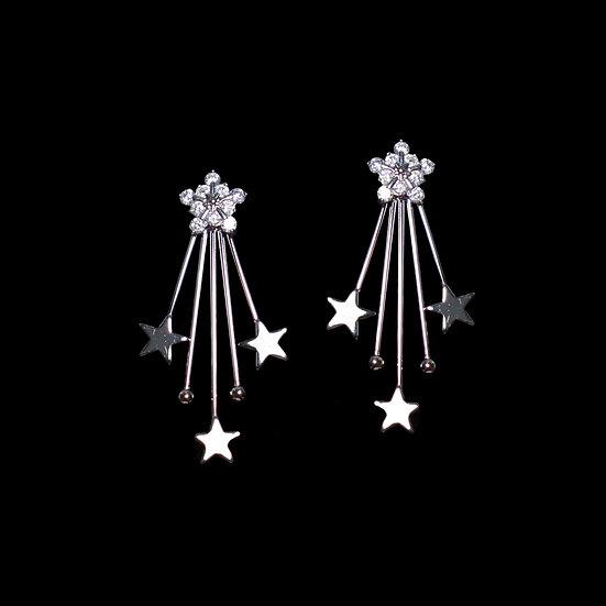 LILITH STARS Zircon Earrings
