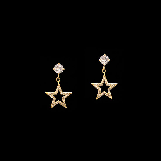 ASTRAEA S925 Zircon Drop Earrings
