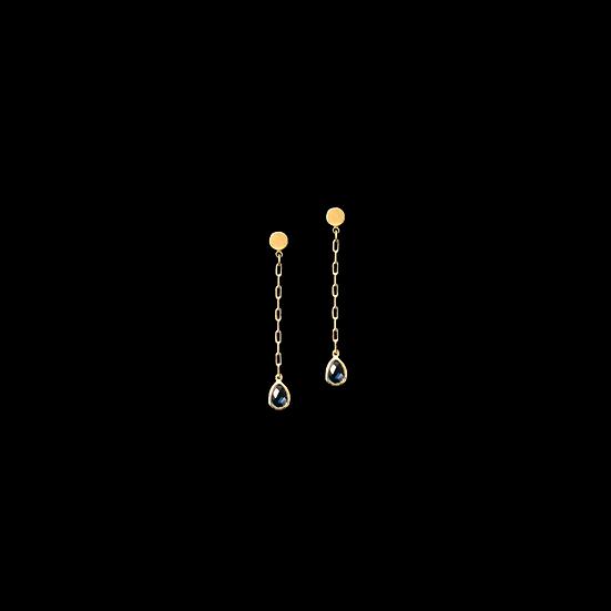 HERMOSA Crystal Drop Earrings