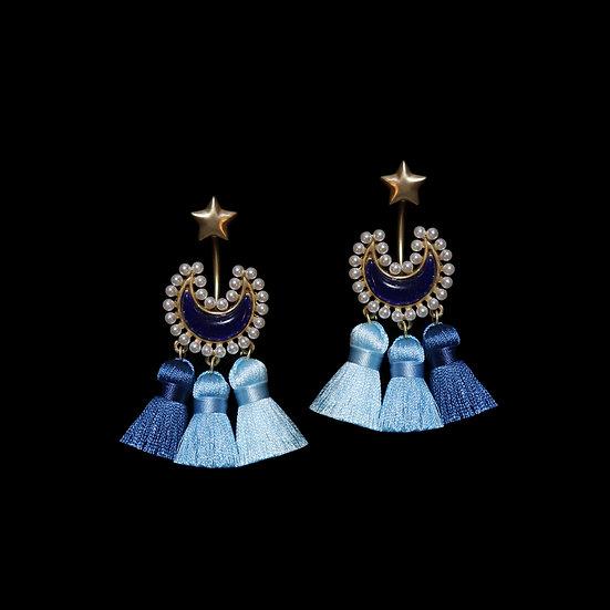 ANAHID Vintage Tassel Earrings