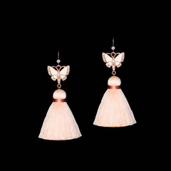 VANESSA Vintage Tassel Earrings