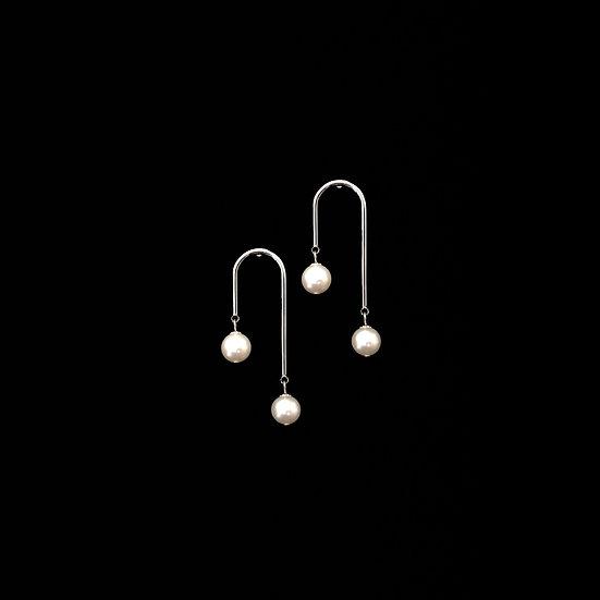 MARJORIE Freshwater Pearl Drop Earrings