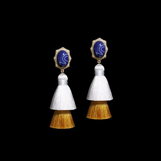 BASIA Vintage Tassel Earrings