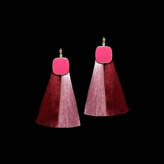 GILL Vintage Tassel Hoop Earrings