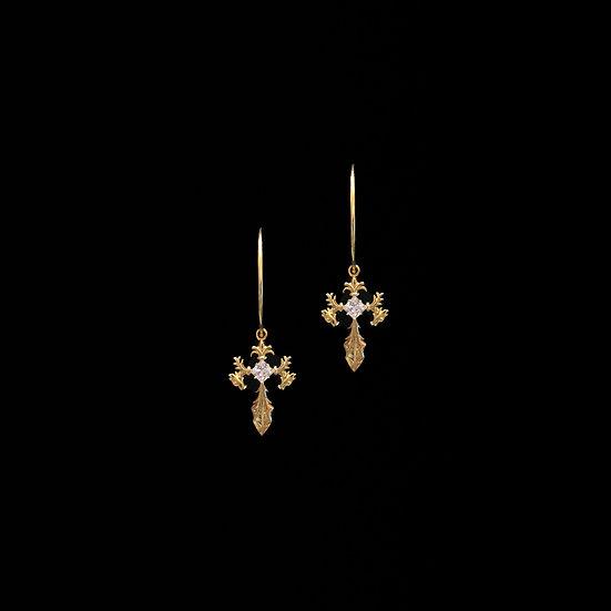 AGATHA Zircon Hoop Earrings