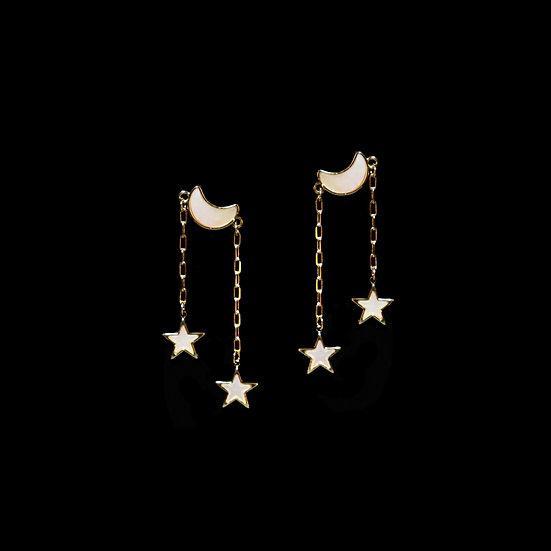 MOORE Moon & Stars Earrings
