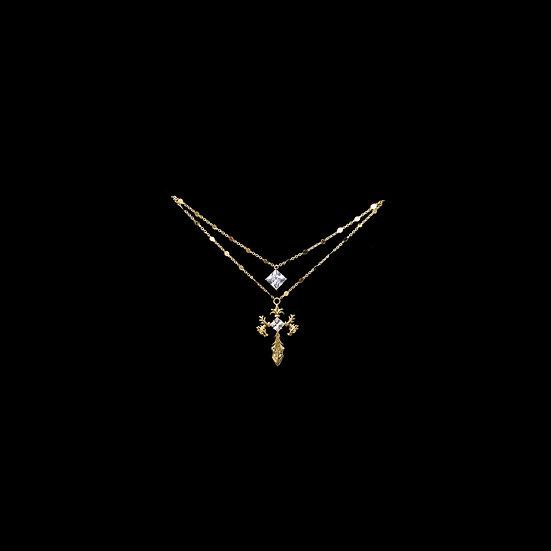 ( PRE-ORDER ) AGATHA Zircon Necklace