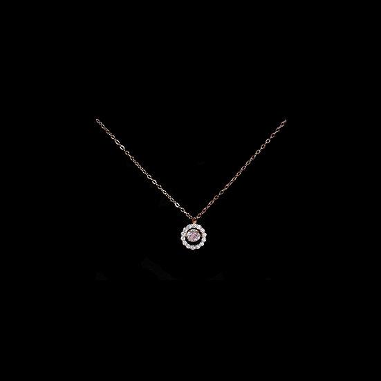( PRE-ORDER ) ALI GRANDEUR S925 Rose Gold Zircon Necklace