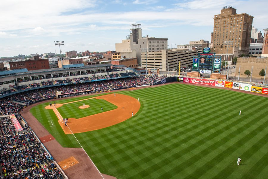 Fifth Third Field home of the Toledo Mud Hens