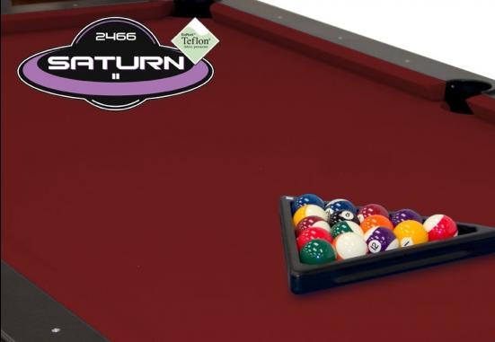 Burgundy Championship Saturn Pool Table